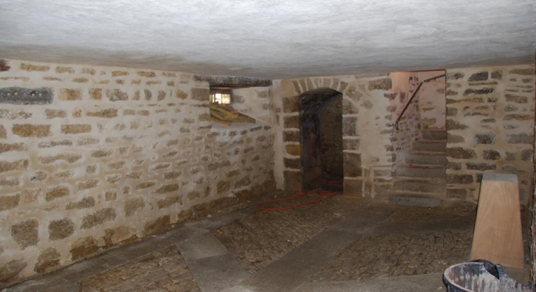 Restauration de la cave