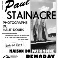 Exposition Paul STAINACRE  :  1er Juin – 11 Août 2019