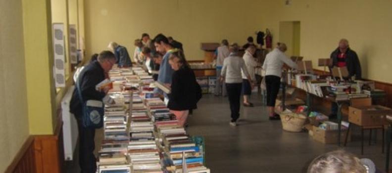 Notre vente de livres annuelle