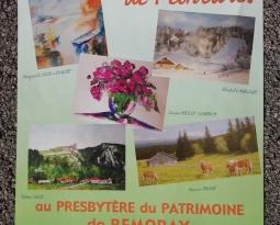 Exposition de peintures : Association Peintres & Sculpteurs du Haut-Doubs, du mercredi 14 août au dimanche 18 août 2019